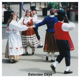 Hire Estonian Folk Dancers for a Birthday Party