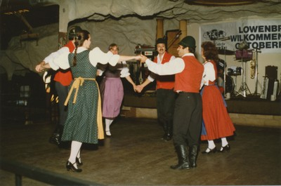 German dance at Old World Village