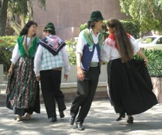 Italian Folkl Dancers - Columbus Day Event, Los Angeles