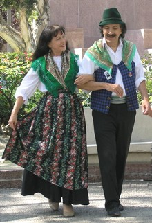 Italian Folk Dancers - Columbus Day Celebration
