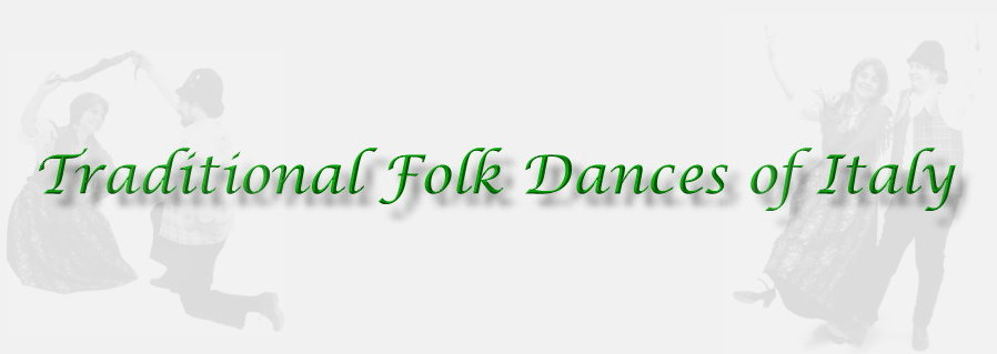 Dancers for an Italian Festa - Folk Dances of Italy