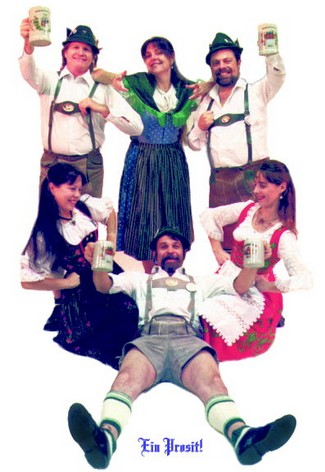 Book German Dancers for a Party