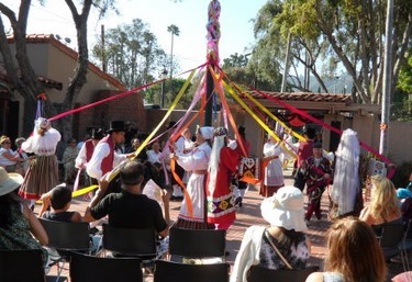Twining the Maypole - Folk Wedding Event for CAFAM