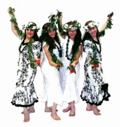 Polynesian Luau Dancers for Holiday Parties