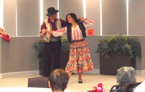 Assisted Living Entertainment - Halloween - Los Angeles County