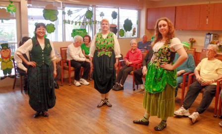 Nursing Home Entertainment - Activity Program Dancers
